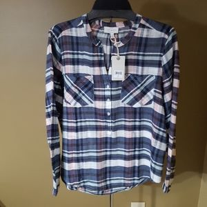 Lucky Brand Plaid Spring Shirt